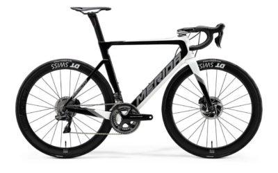 Велосипед Merida Reacto Disc-10K-E PearlWhiteGlossyBlack 2020