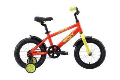 Велосипед Stark'19 Foxy 14 оранжевыйзелёный H000013948