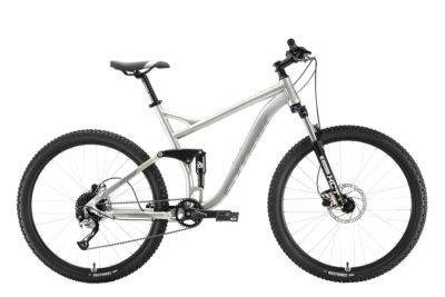 Велосипед Stark'20 Tactic 27.5 FS HD серебристыйсерый
