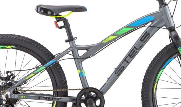 Велосипед Stels Adrenalin D 27.5 V010 Серый (LU092620)