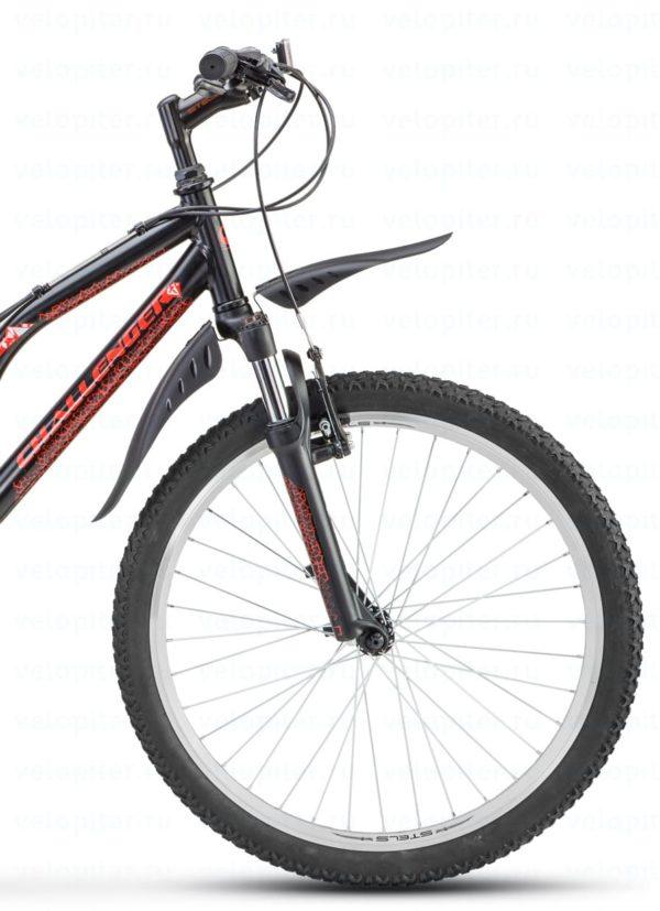 Велосипед Stels Challenger 24 V Z010 ЧёрныйКрасный (LU084627)