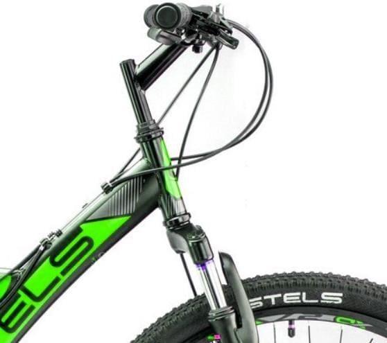 Велосипед Stels Focus 26 MD 21 sp V010 ЧёрныйЗелёный (LU088523)