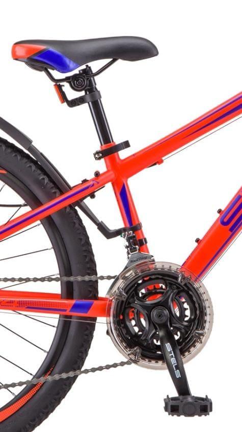 Велосипед Stels Navigator 24 400 MD F010 Синийкрасный (LU092747)