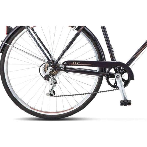 Велосипед Stels Navigator 28 360 V010 Черный (LU088238)