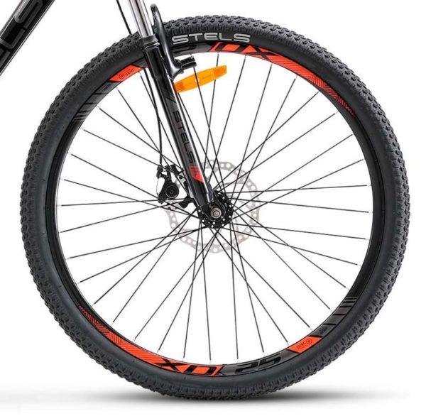 Велосипед Stels Navigator 500 D F010 ЧёрныйКрасный 26 (LU093937)