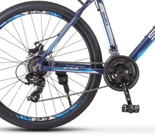 Велосипед Stels Navigator 510 D V010 Темно-синий (LU093749)