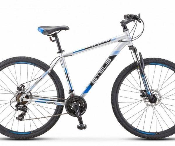 Велосипед Stels Navigator 590 D K010 СерыйСиний (LU094326)