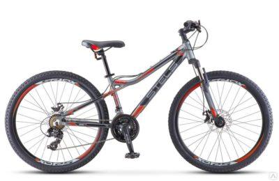 Велосипед Stels Navigator 610 D V010 АнтрацитовыйОранжевый 26Ø (LU093801)