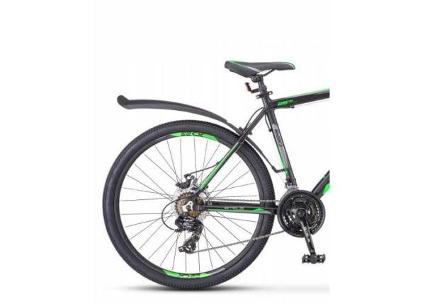 Велосипед Stels Navigator 620 MD V010 ЧёрныйЗелёныйАнтрацит (LU088804)