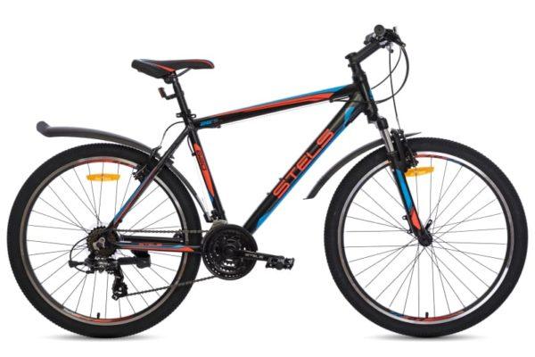 Велосипед Stels Navigator 620 V V010 ЧёрныйКрасныйСиний (LU088805)