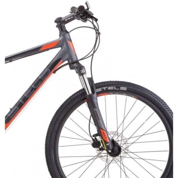 Велосипед Stels Navigator 630 D V010 АнтрацитовыйКрасный (LU092182)