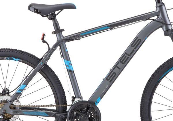 Велосипед Stels Navigator 640 D V010 СерыйСиний 26Ø (LU091518)