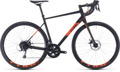 Велосипед куб аттаин про (черный´н´оранжевыйе) 2020