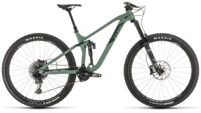 Велосипед куб стерео 170 рейс 29ø (зеленый´н´шарп зеленый) 2020