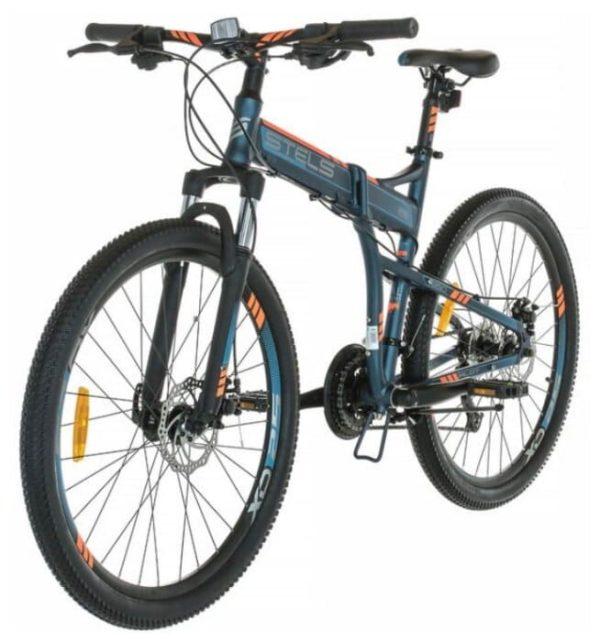 Велосипед стелс 26 пилот 950 мд в011 темно-синий (лу094028)