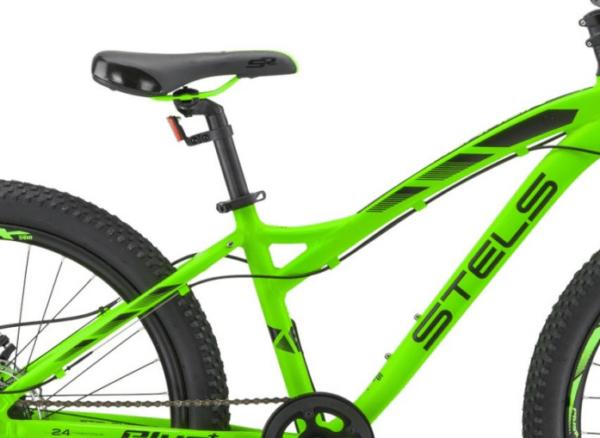Велосипед стелс адреналин мд 24 в010 неоновый-лайм (лу091583)