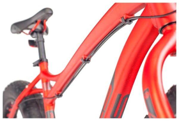 Велосипед стелс аггрессор мд 20 (фат) в010 неоновый-красный (лу092512)