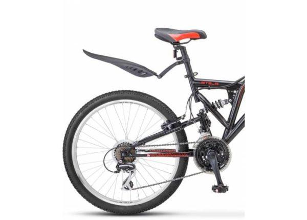 Велосипед стелс челленджер 24 в з010 чёрныйкрасный (лу084627)