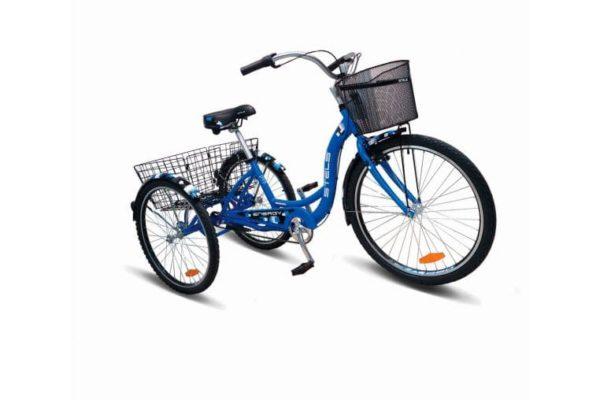 Велосипед стелс энерджи иии 26 в030 синий (с корзиной) (лу085325)
