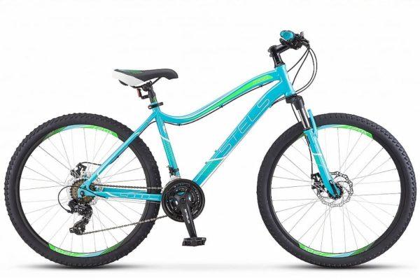 Велосипед стелс мисс-5000 мд в010 бирюзовый (лу088177)