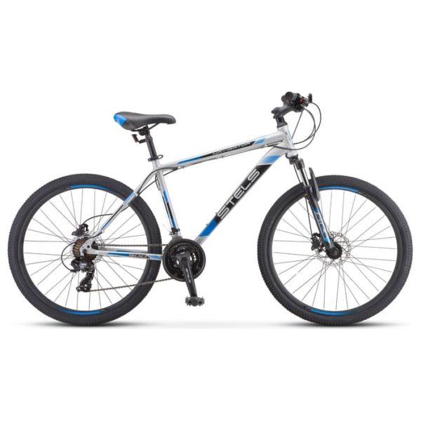 Велосипед стелс навигатор 590 д к010 серыйсиний (лу094326)