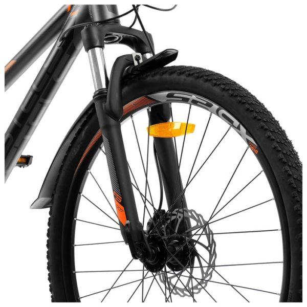 Велосипед стелс навигатор 610 д в010 антрацитовыйоранжевый 26ø (лу093801)