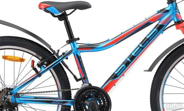 Велосипед стелс навигатор 620 в в010 чёрныйкрасныйсиний (лу088805)