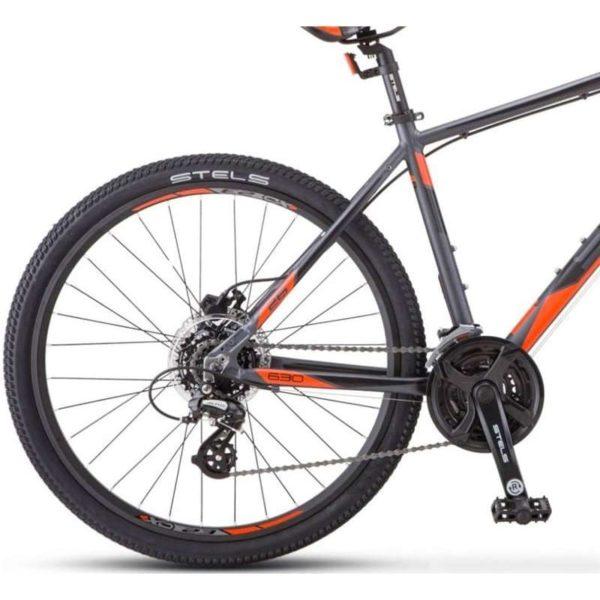 Велосипед стелс навигатор 630 д к010 антрацитовыйкрасный (лу092651)
