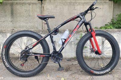 Фэтбайк Green Bike SLM ягуар красный