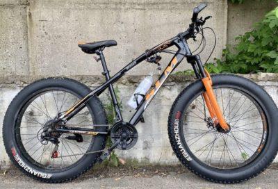 Фэтбайк Green Bike SLM ягуар оранжевый
