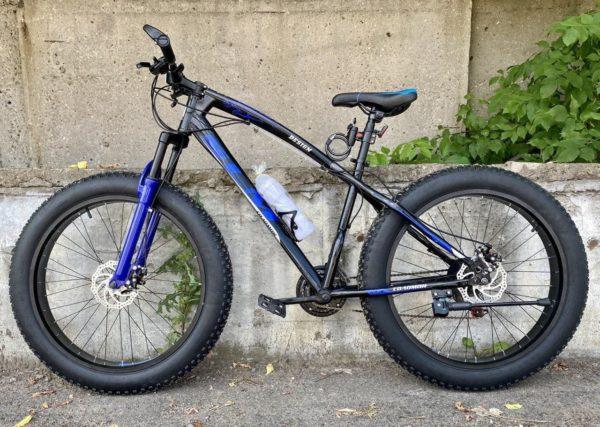Фэтбайк Green Bike SLM ягуар синий
