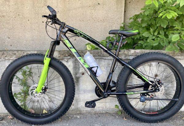 Фэтбайк Green Bike SLM ягуар зелёный