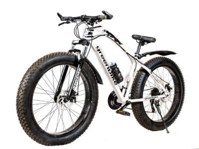 Фэтбайк Green Bike ягуар белый
