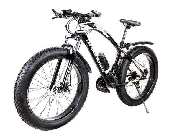 Фэтбайк Green Bike ягуар чёрный