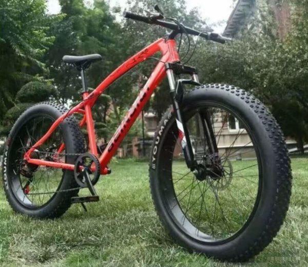 Фэтбайк Green Bike ягуар красный