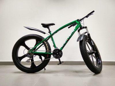 Фэтбайк Green Bike ягуар зелёный