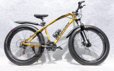 Фэтбайк Green Bike ягуар золотой
