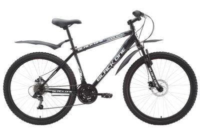 Велосипед Black One Hooligan Disc BlackWhiteGrey 19