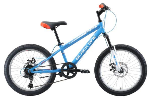 Велосипед Black One Ice Girl 20 D голубойбелыйоранжевый