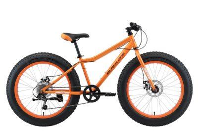 Велосипед Black One Monster 24 D оранжевыйсерый