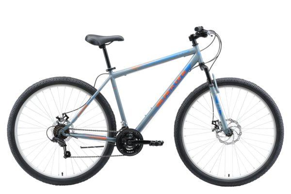 Велосипед Black One Onix 29 D серыйоранжевыйголубой 20
