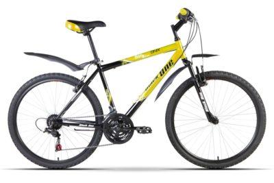 Велосипед Black One Onix Alloy 16 Yellow