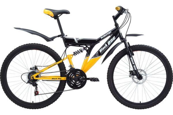 Велосипед Black One Phantom Disc 16'' Yellow