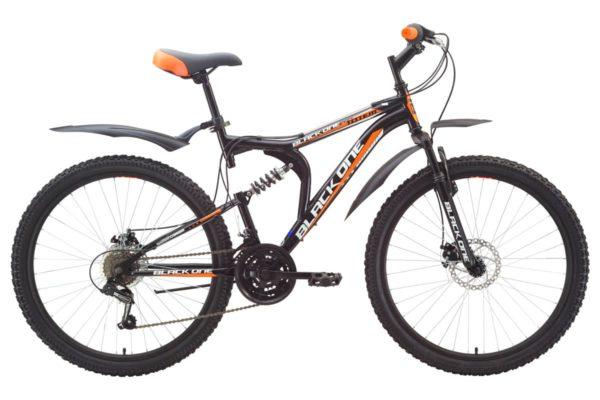 Велосипед Black One Totem BlackOrange 20