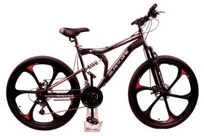 Велосипед Black One Totem FS 26 D FW серый черный серый 16
