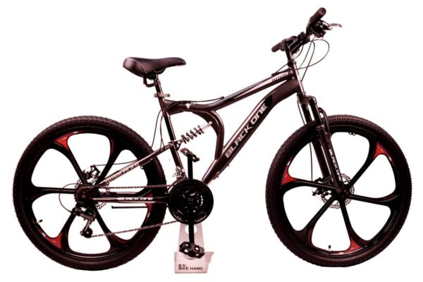 Велосипед Black One Totem FS 26 D FW серыйчерныйсерый 20