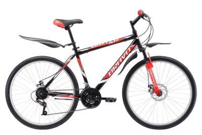Велосипед Bravo Hit 26 D черно-красный 20''