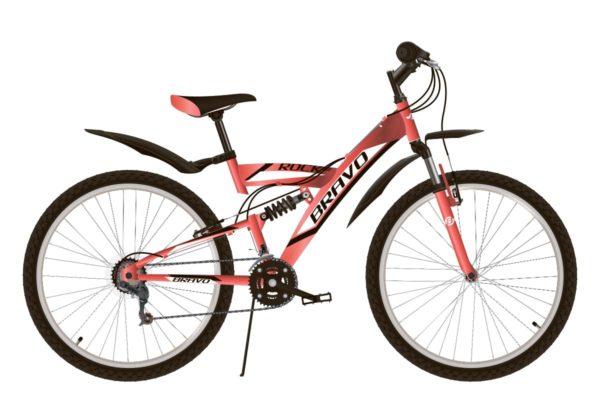 Велосипед Bravo Rock 26 красныйчерныйбелый 20''