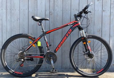 Велосипед Keysto красный премиум