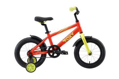 Велосипед Stark'19 Foxy 14 оранжевыйзелёный